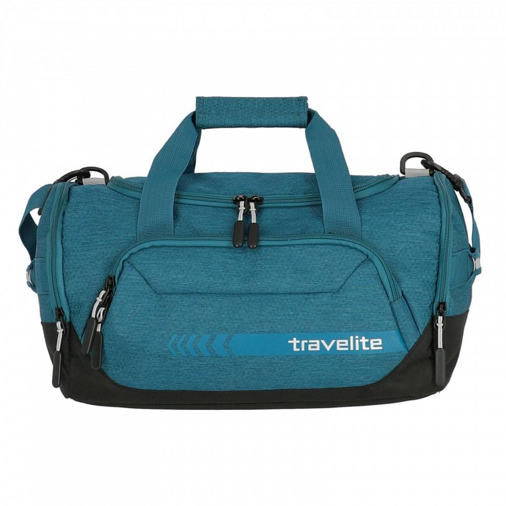 Travelite Cestovní/sportovní taška Kick Off Duffle S 6913 23 l - tyrkysová