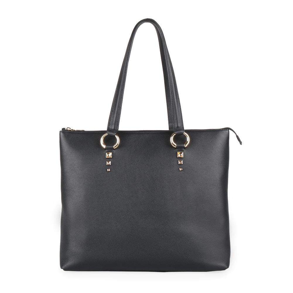 Elega by Dana M Dámská velká shopper kabelka přes rameno Maternity 69452 - černá