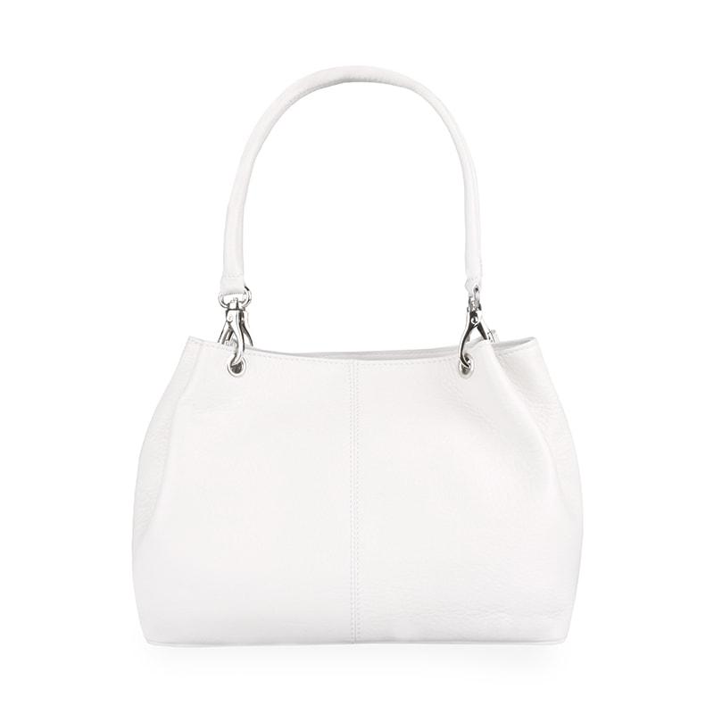 Sněžka Náchod Dámská kožená kabelka 4807 - bílá