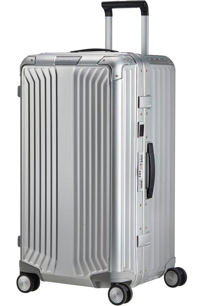 Samsonite Hliníkový cestovní kufr Lite -Box Alu Trunk L 93 l - Aluminium
