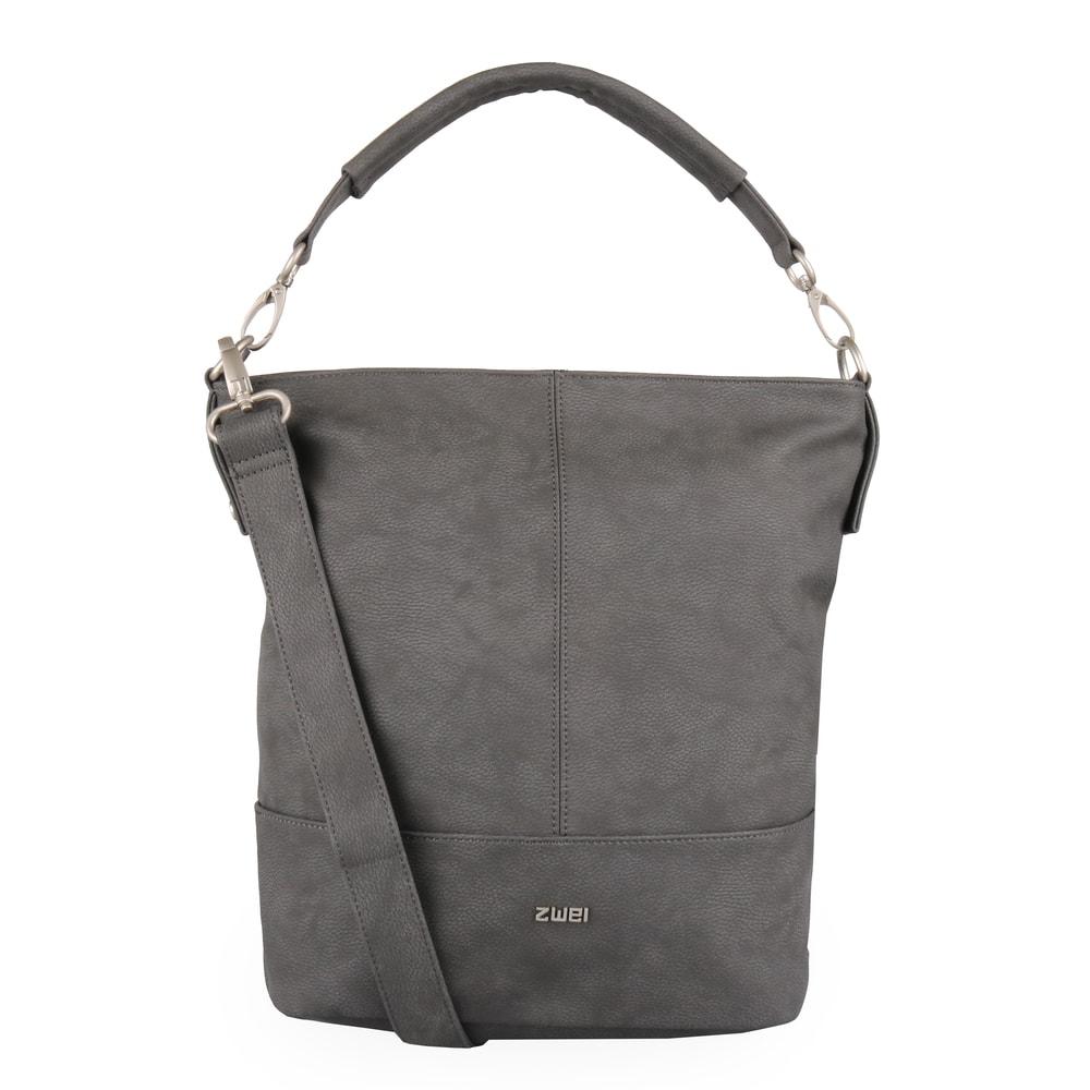 Zwei Dámská kabelka Mademoiselle M13 - tmavě šedá