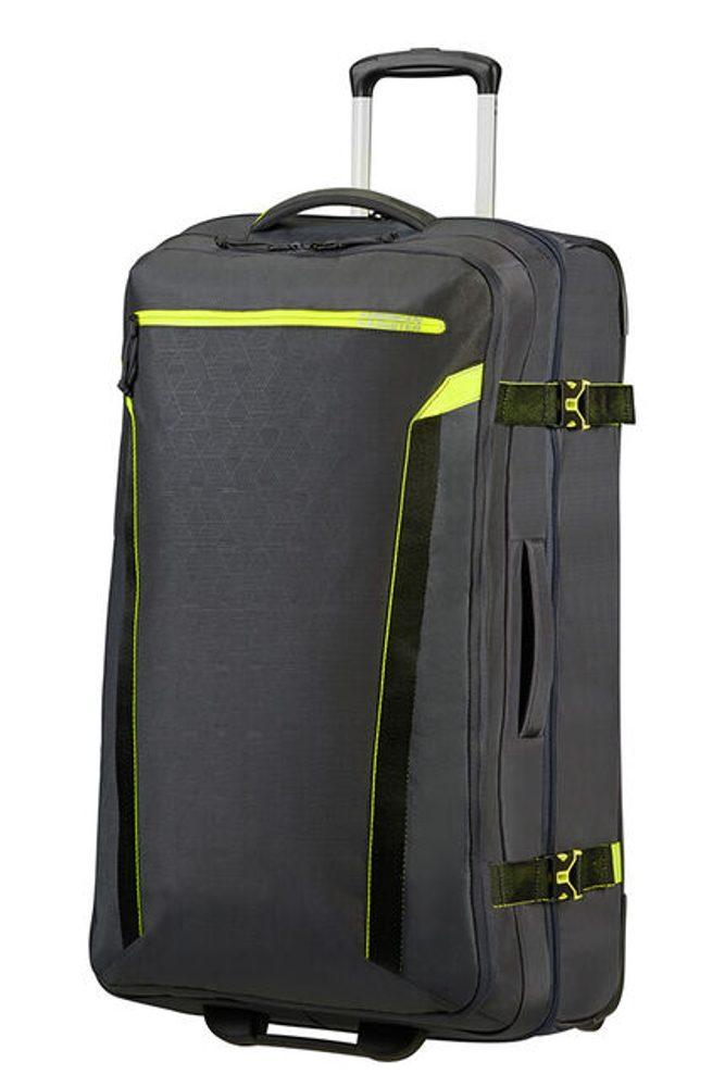 American Tourister Látková cestovní taška na kolečkách AT Eco Spin 112 l - tmavě šedá