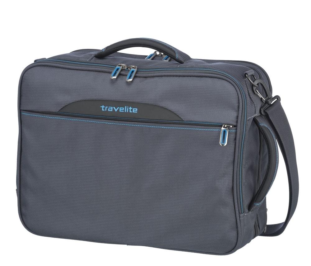 Travelite Taška na notebook/batoh 2v1 CrossLITE Anthracite 23/28 l