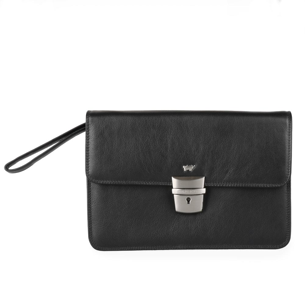 Braun Büffel Pánská kožená etue Golf 92579, černá