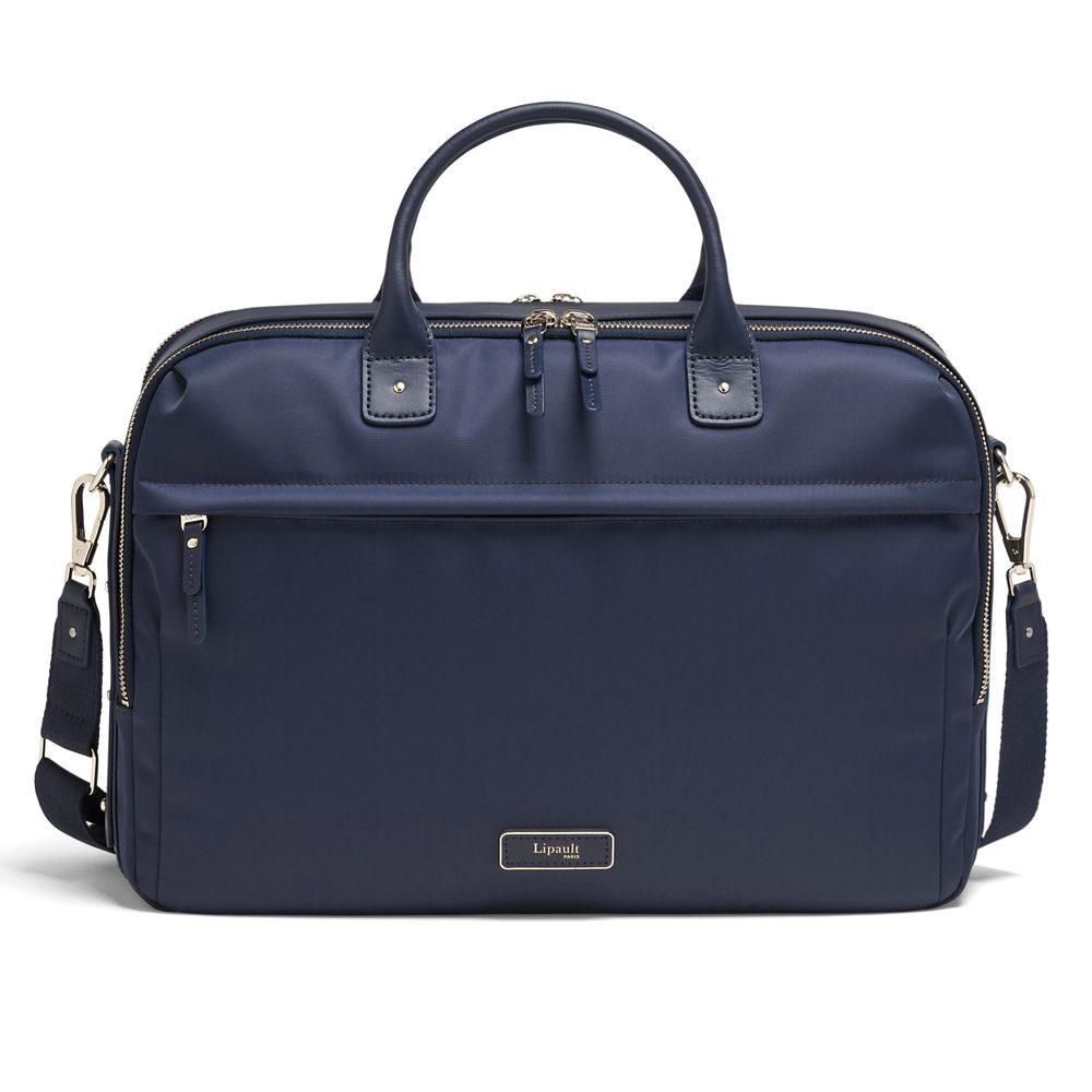 Lipault Dámská taška na notebook Business Avenue 15,6'' - tmavě modrá