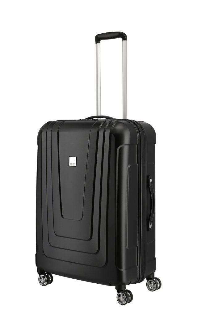 Titan Skořepinový cestovní kufr X-ray 4w M+ Atomic Black 87 l