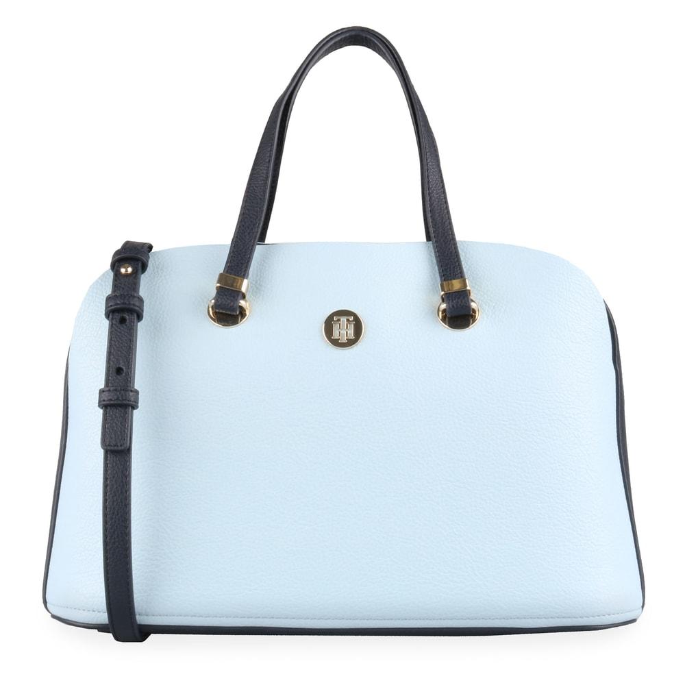 Tommy Hilfiger Dámská kabelka do ruky TH Core AW0AW06444 - světle modrá