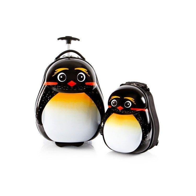 Heys Sada batohu a kabinového kufru Travel Tots Emperor Penguin