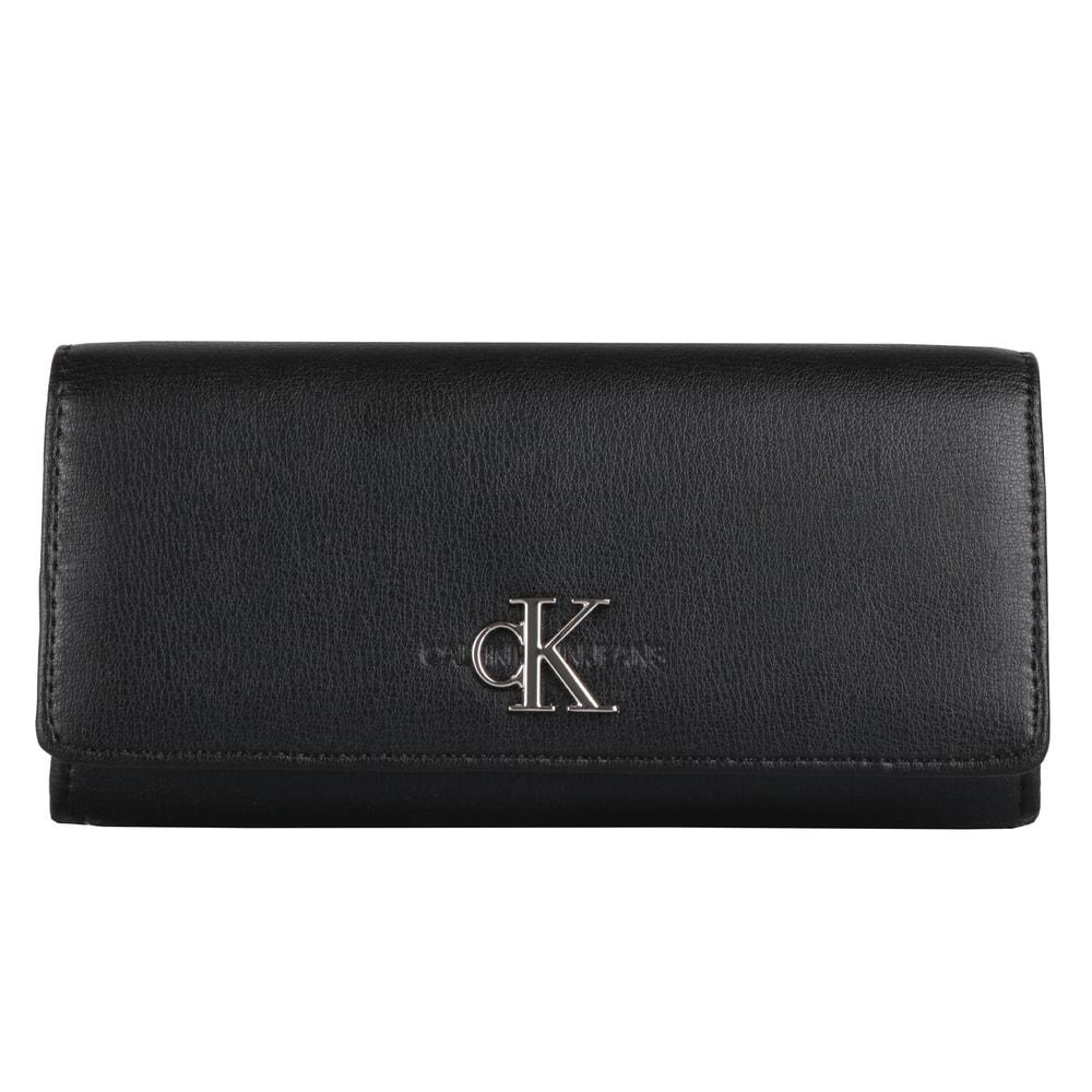 Calvin Klein Velká dámská peněženka Monogram K60K605904 - černá