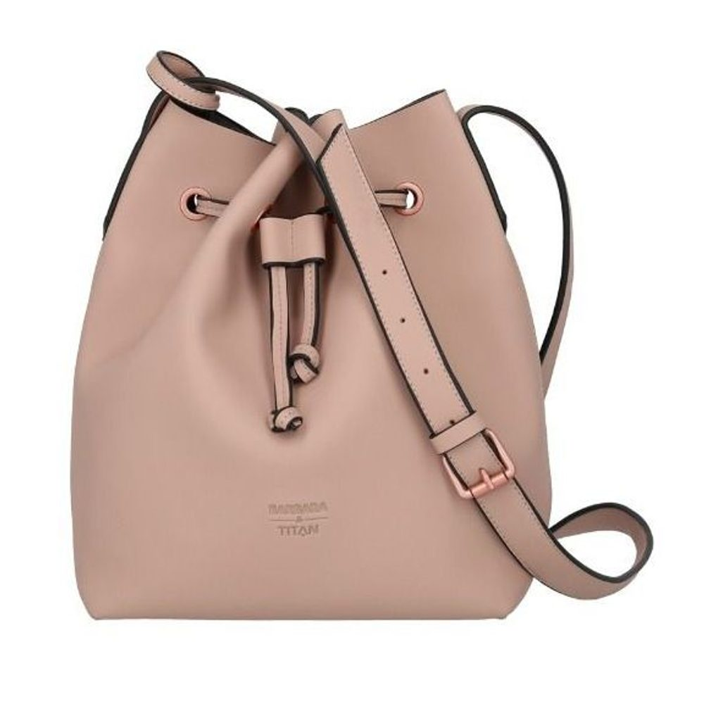 Titan Dámská kabelka Barbara Pure Bucket Bag Rose