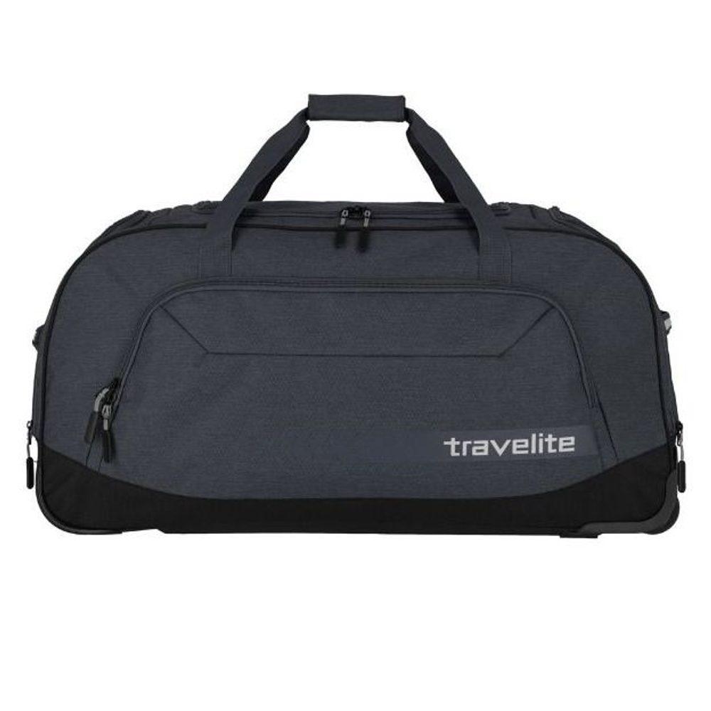 Travelite Cestovní taška na kolečkách Kick Off Anthracite 120 l