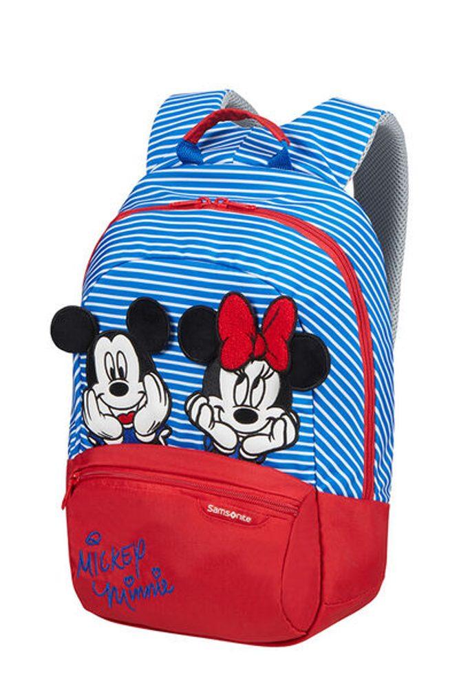 Samsonite Dětský batoh Disney Ultimate 2.0 S+ Disney Stripes 11 l - modrá
