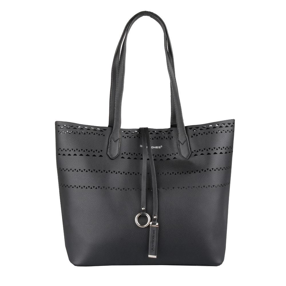 David Jones Paris Dámská kabelka přes rameno 5905-2 - černá