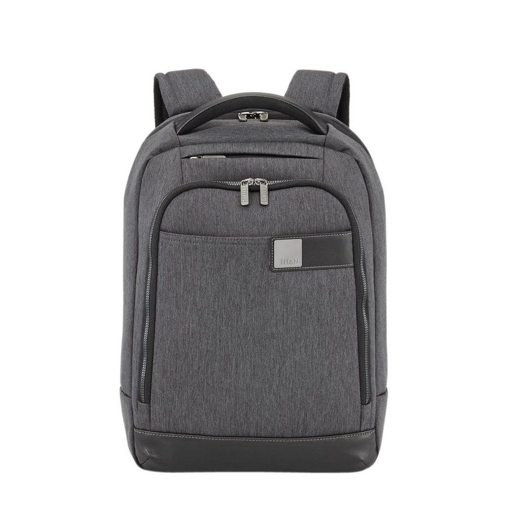 Titan Městský batoh Power Pack Backpack Slim Anthracite 15,6' 16 l