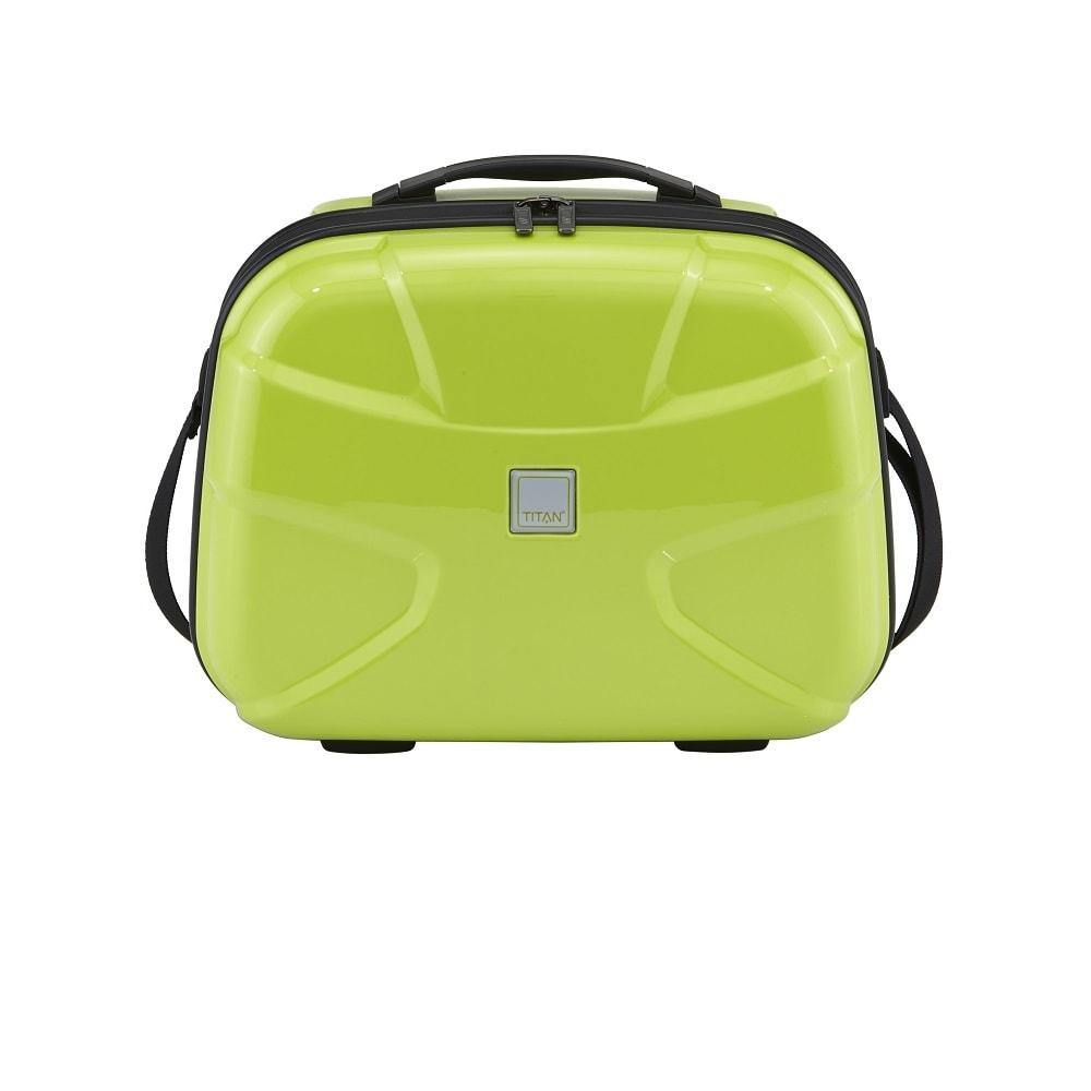 Titan Kosmetický kufřík X2 Flash Beauty case Lime green