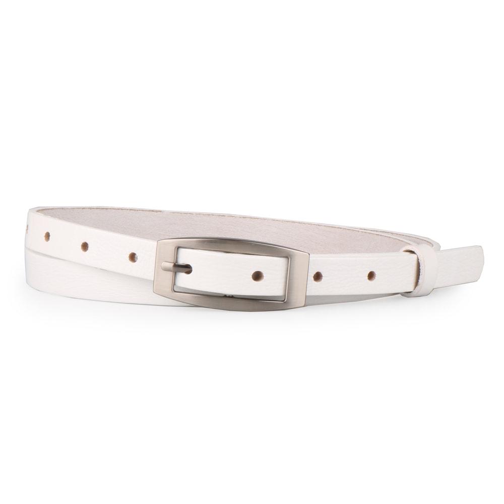 Penny Belts Dámský úzký kožený opasek 15200 - 100