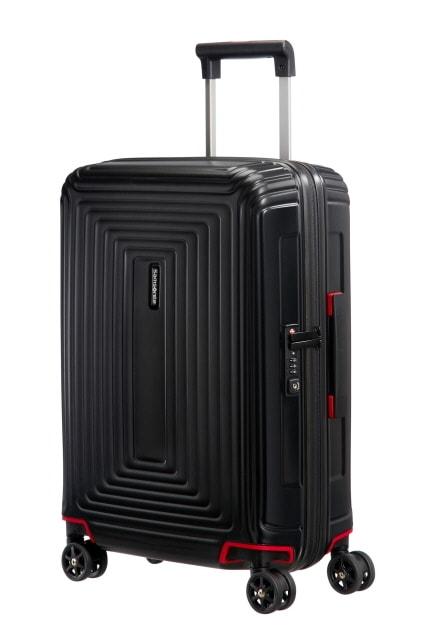 Samsonite Kabinový cestovní kufr Neopulse Spinner 38 l - černá