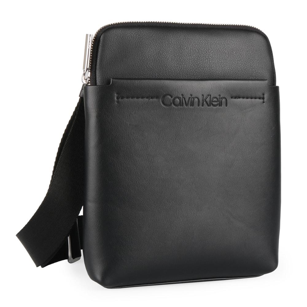 Calvin Klein Pánská taška přes rameno Flex 1 G iPad Flat K50K504390 - černá