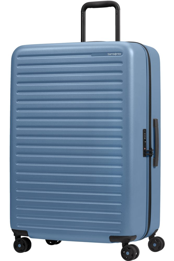 Samsonite Skořepinový cestovní kufr StackD 96 l - světle modrá