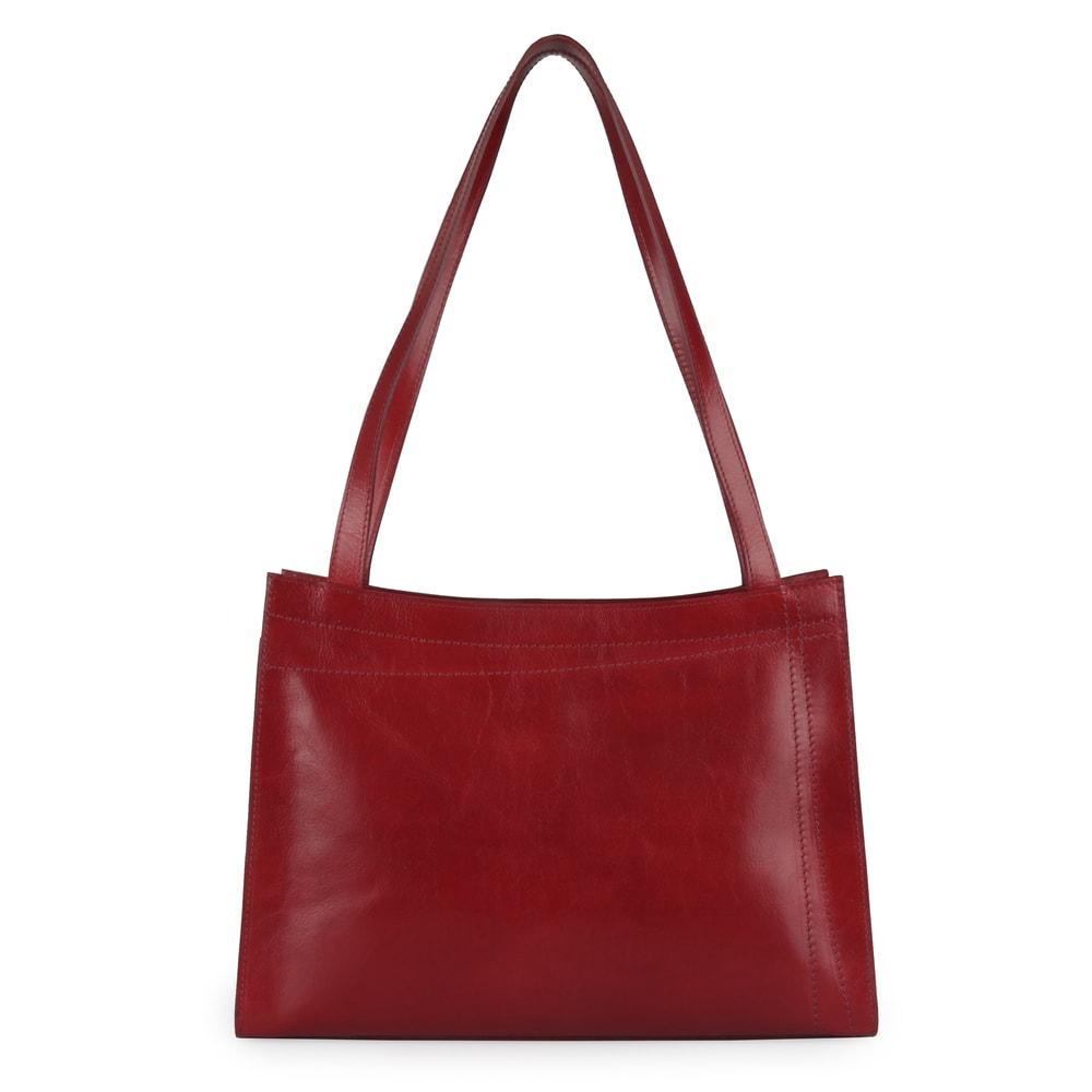 Elega Dámská kožená kabelka přes rameno Megan 67525