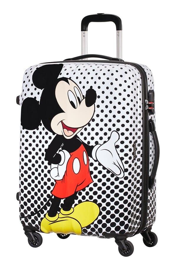 American Tourister Cestovní kufr Disney Legends Spinner 19C 62,5 l - Mickey Mouse Polka Dot