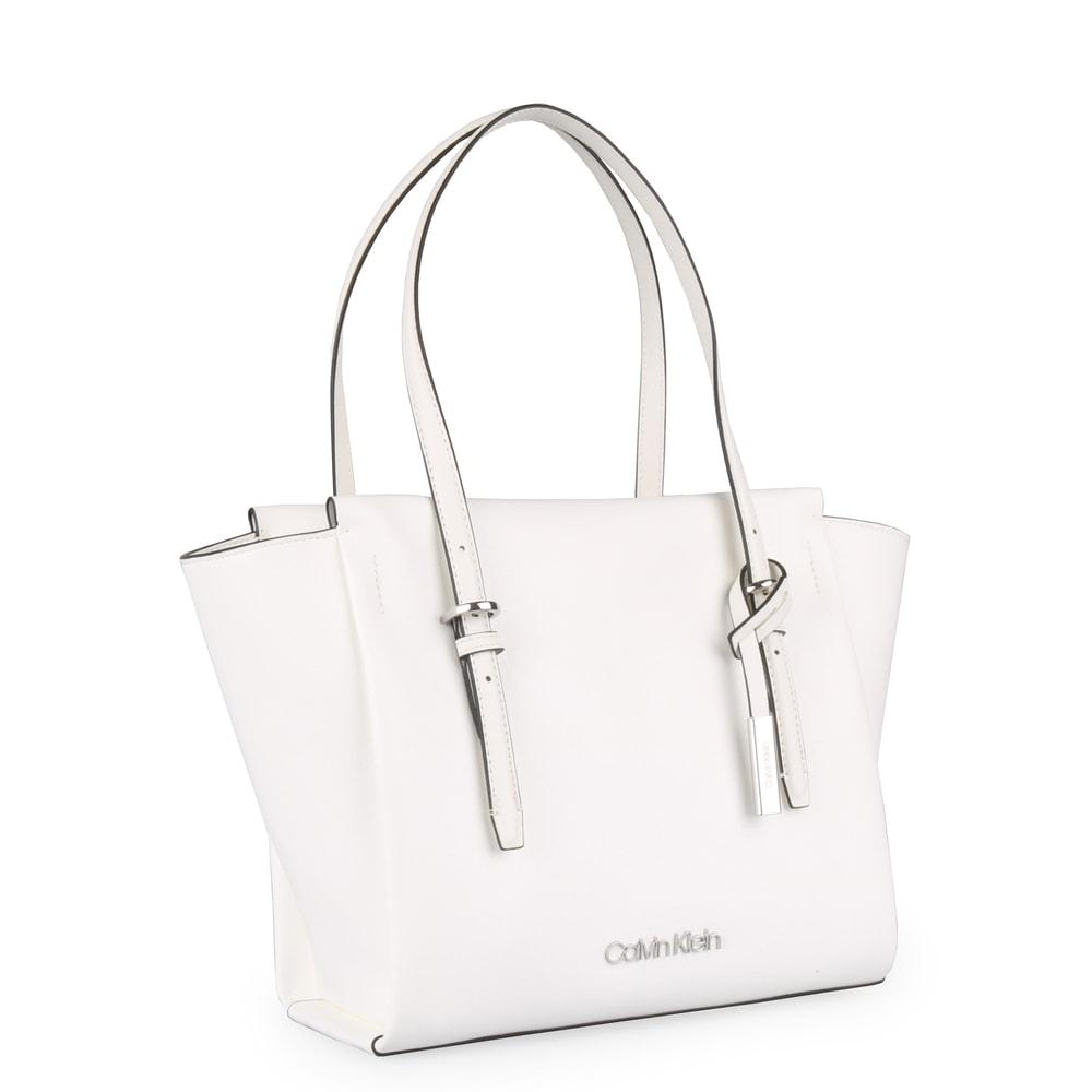 Calvin Klein Dámská kabelka přes rameno Avant Medium K60K605070 - bílá