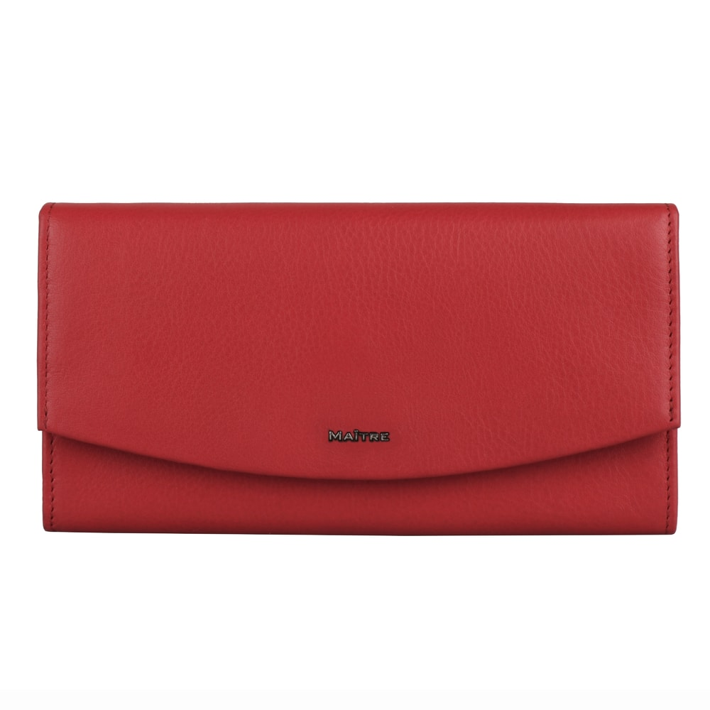 Maitre Dámská kožená peněženka Leisel Diedburg 4060001565 - červená