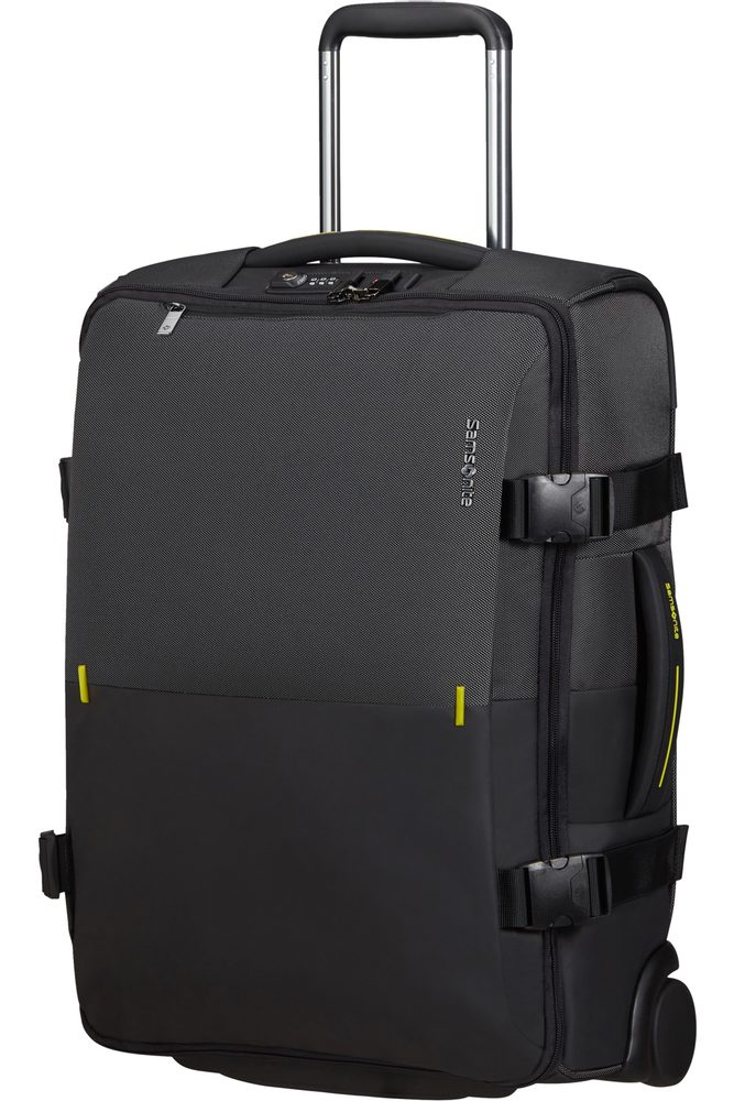 Samsonite Látková cestovní taška na kolečkách Rythum 47 l - tmavě šedá