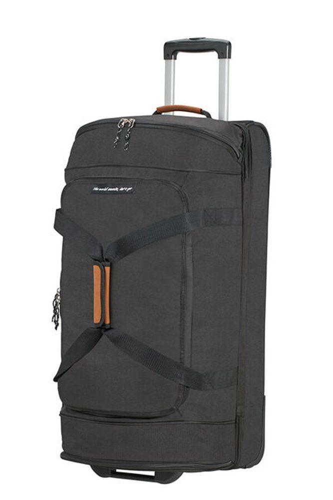 American Tourister Cestovní taška na kolečkách Alltrail L 95,5 l - černá