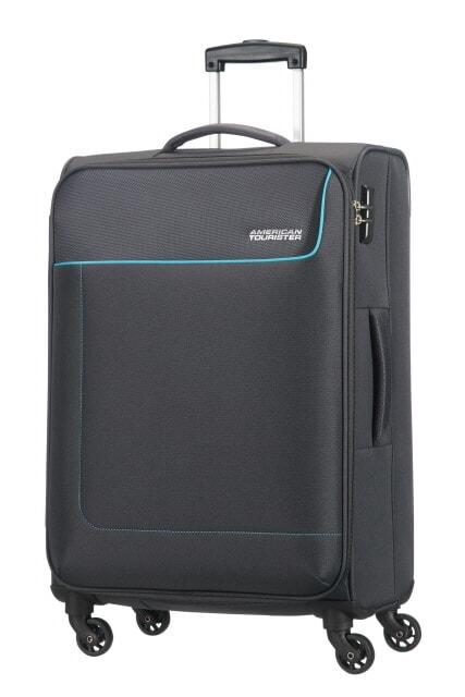 American Tourister Cestovní kufr Funshine Spinner 20G 63,5 l - černá