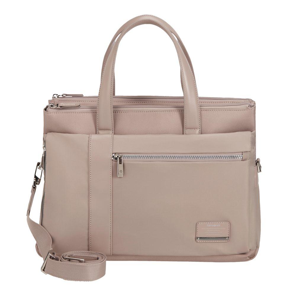 Samsonite Dámská taška na notebook Openroad Chic 14,1'' - starorůžová