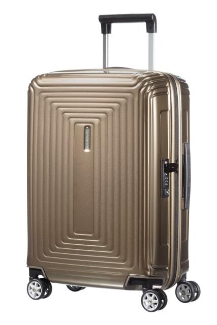 Samsonite Kabinový cestovní kufr Neopulse Spinner 38 l - hnědá