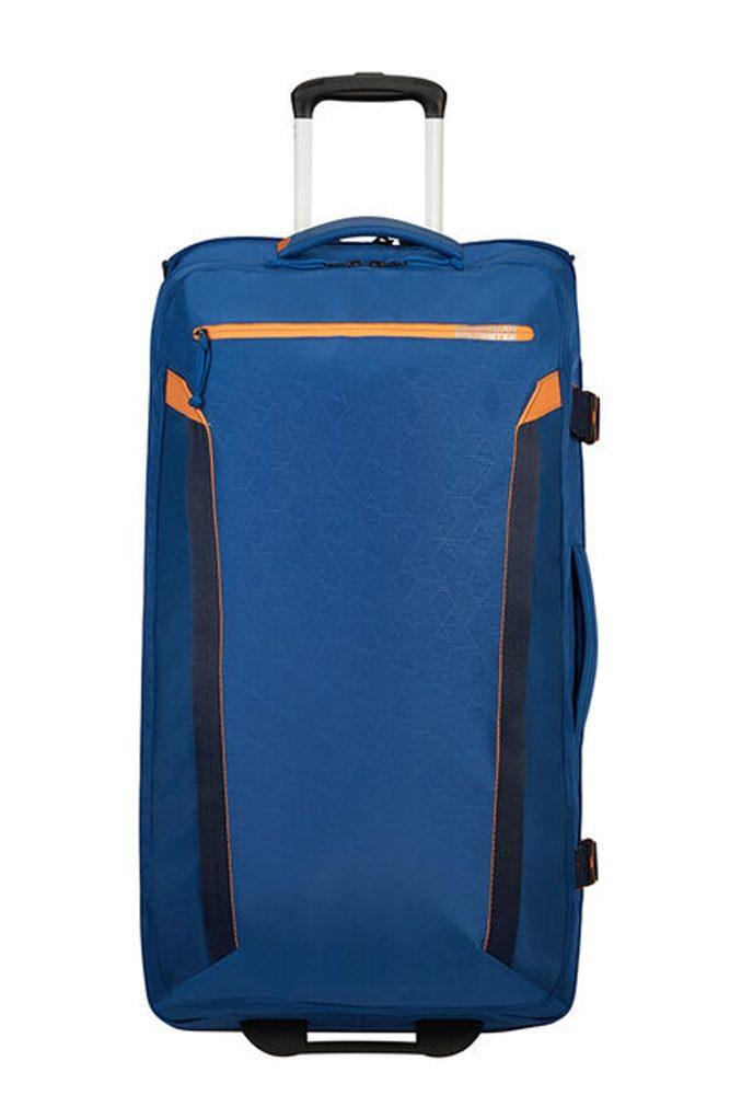 American Tourister Látková cestovní taška na kolečkách AT Eco Spin 112 l - modrá