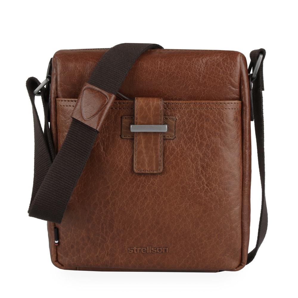 Strellson Pánská taška přes rameno Sutton 4010002575 - koňaková