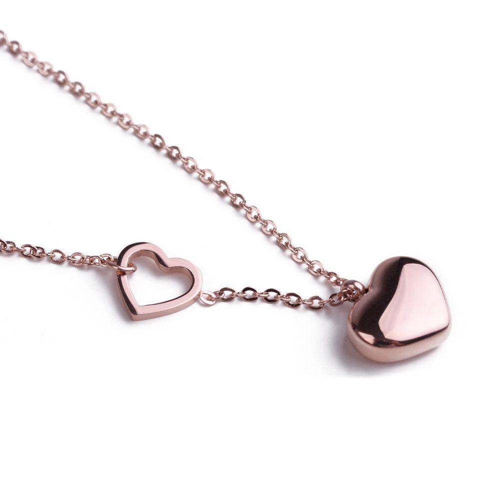Vuch Dámský náhrdelník Inlove Rose Gold
