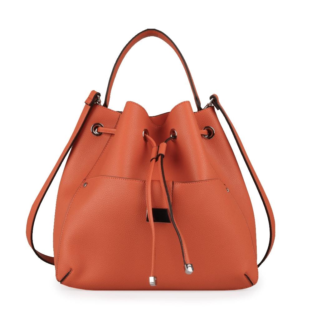 Tom&Eva Dámská kabelka přes rameno 6607 - oranžová