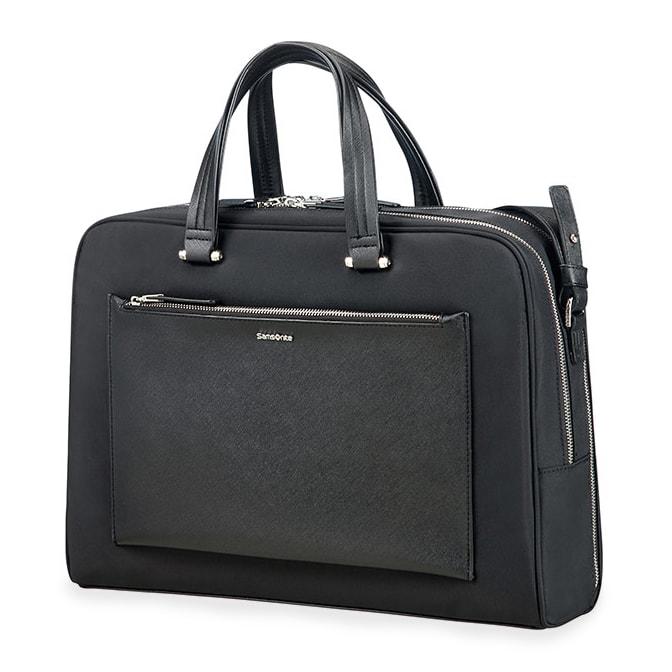 """Samsonite Dámská taška na notebook Zalia 85D-005 15.6"""" - černá"""
