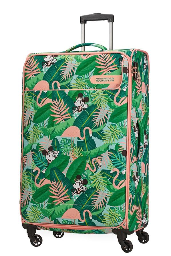 American Tourister Cestovní kufr Funshine Disney Spinner 49C 99,5 l - Minnie Miami Palms
