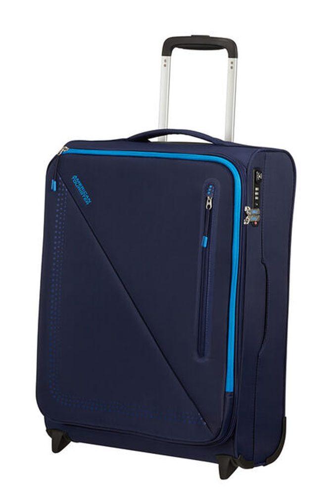 American Tourister Kabinový cestovní kufr Lite Volt Upright 42 l - NAVY/BLUE