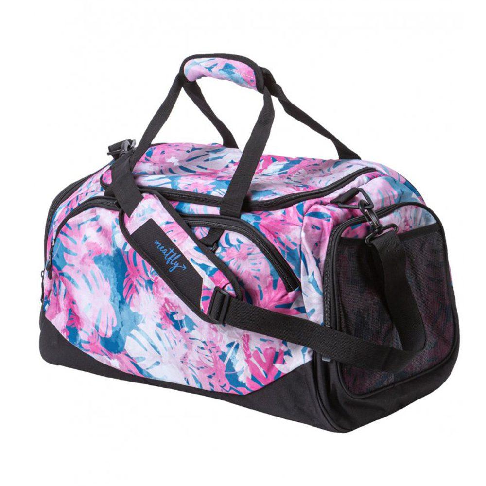 Meatfly Cestovní taška Rocky 3 33 l - růžová