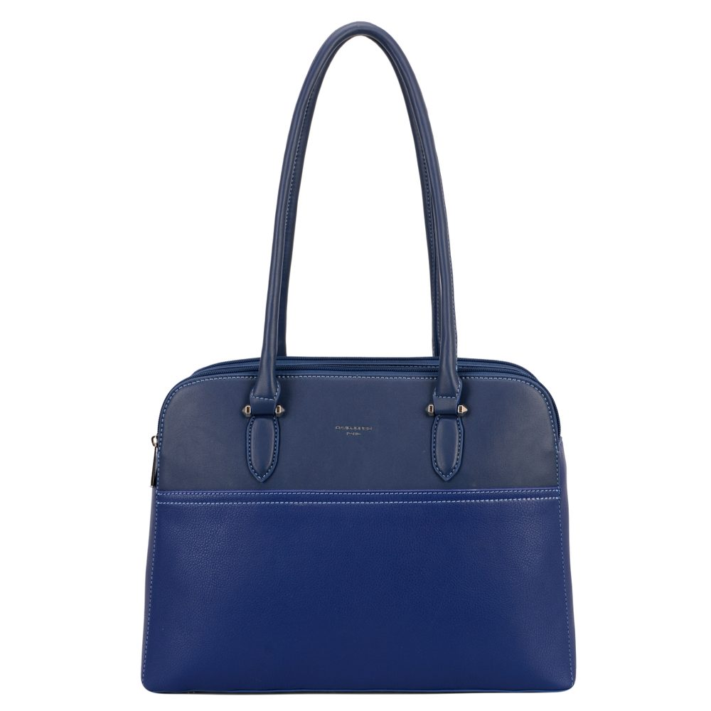 David Jones Paris Dámská kabelka přes rameno 6221-4 - modrá
