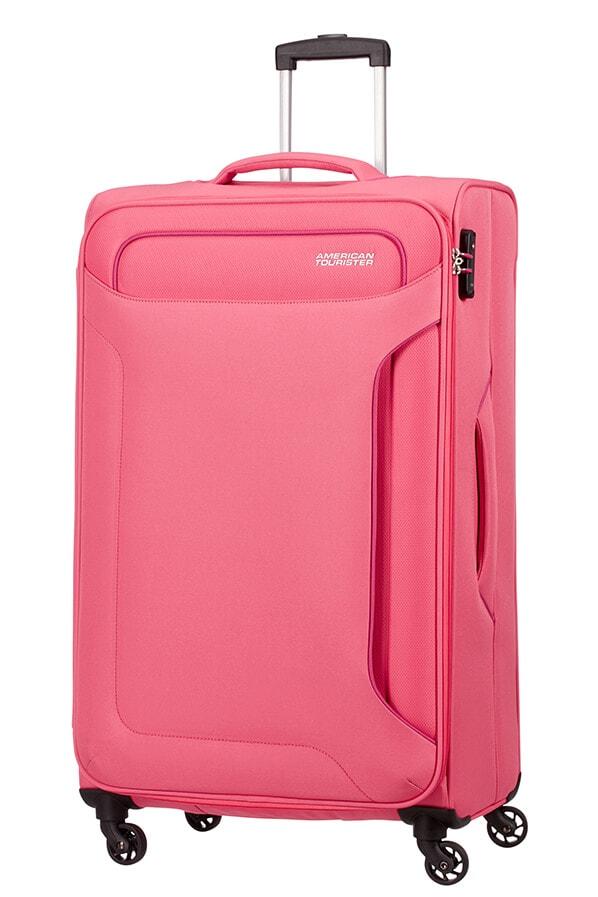 American Tourister Cestovní kufr Holiday Heat Spinner 50G 108 l - růžová