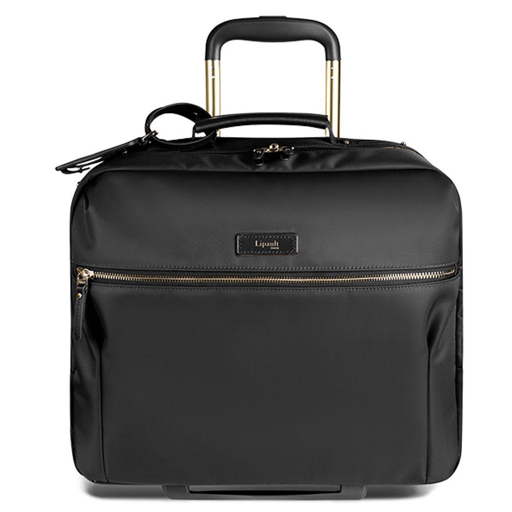 Lipault Kabinový cestovní kufr Business Avenue 18 l - černá