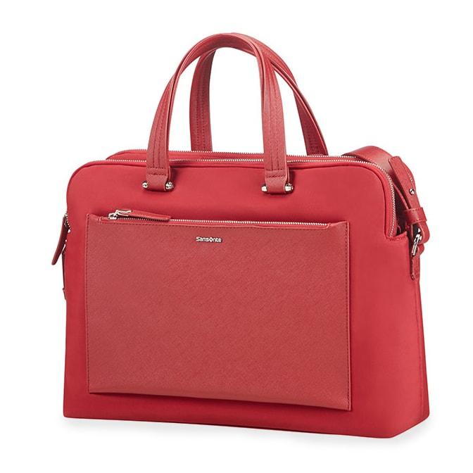"""Samsonite Dámská taška na notebook Zalia 85D-004 14.1"""" - červená"""
