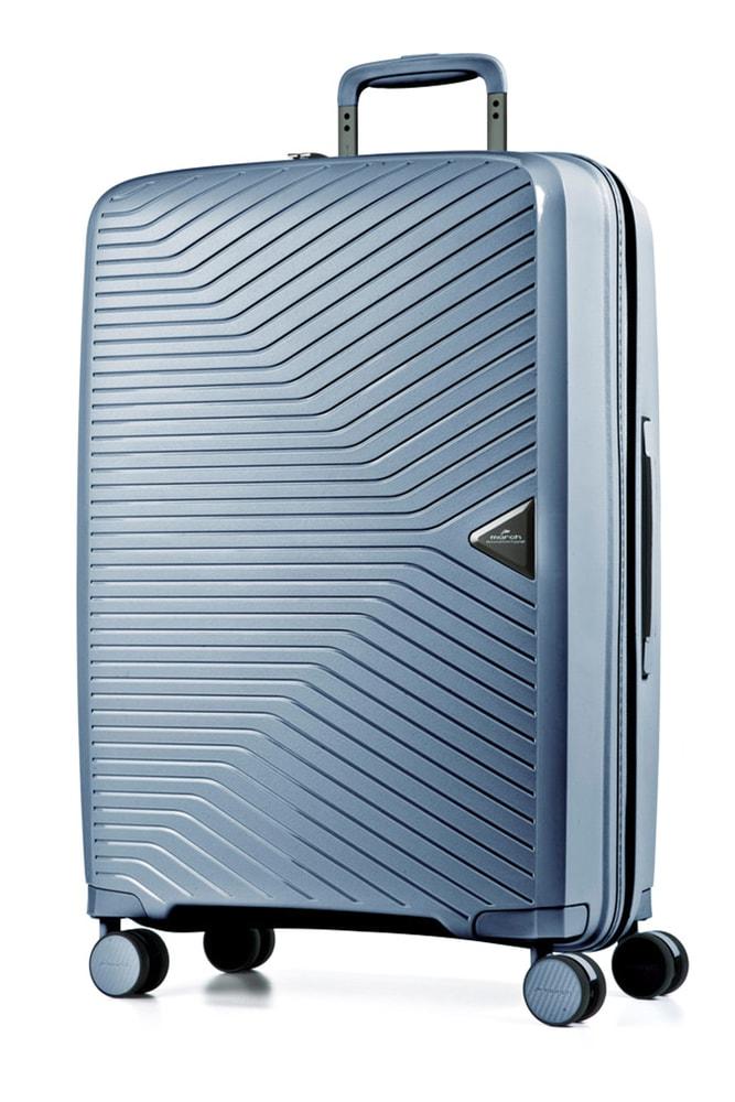 March Skořepinový cestovní kufr Gotthard L 111 l - světle modrá