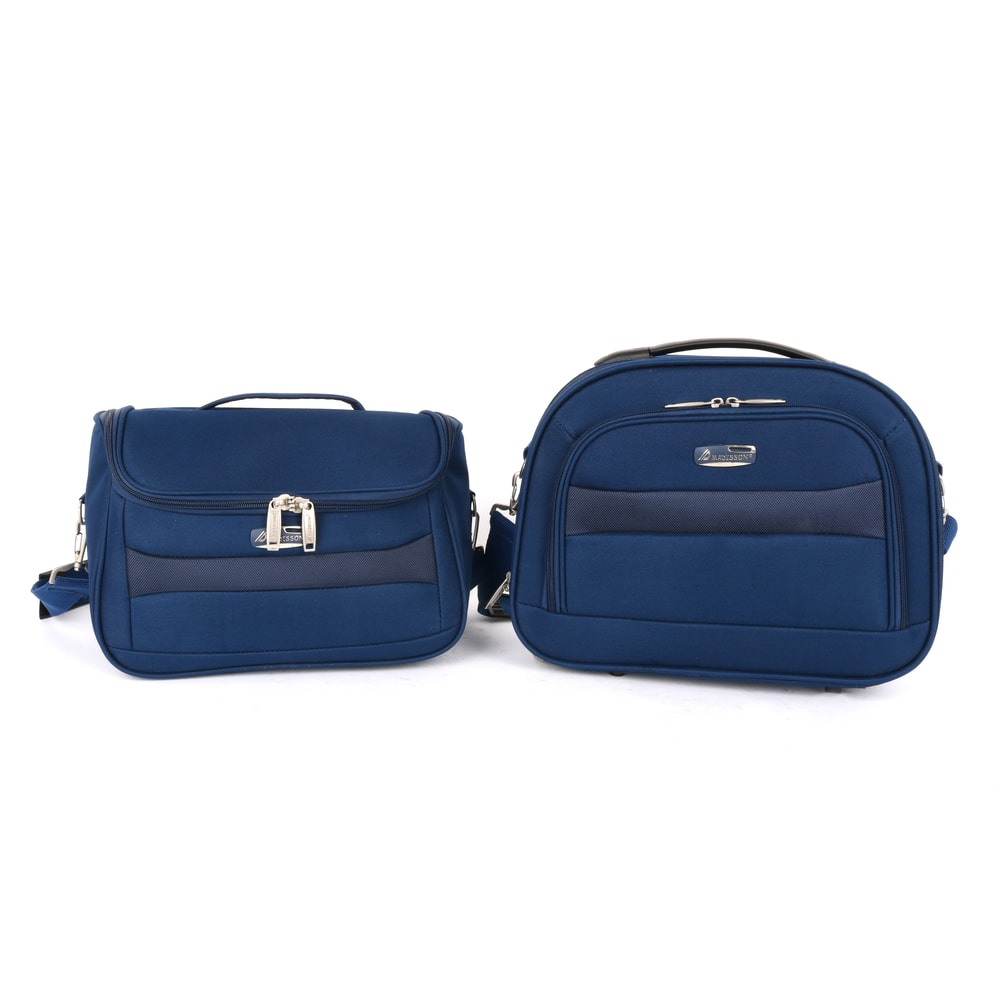 Madisson Sada kosmetických kufrů A44835 - modrý