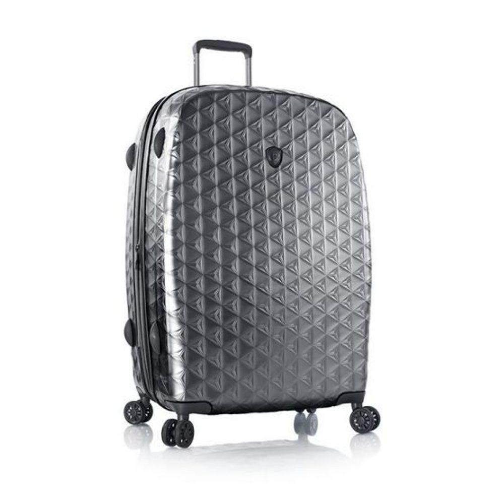 Heys Skořepinový cestovní kufr Motif Homme L Gunmetal 130 l