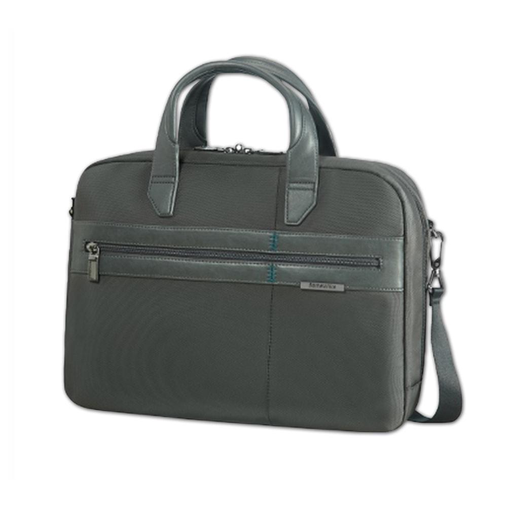 """Samsonite Pánská taška na notebook 14,1"""" Formalite 62N-004 - šedá"""