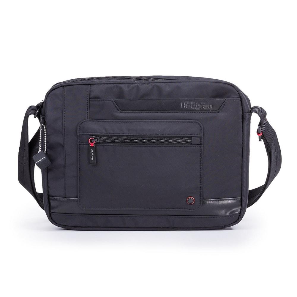 Hedgren Pánská taška přes rameno Extruded RFID HZPR02 - černá