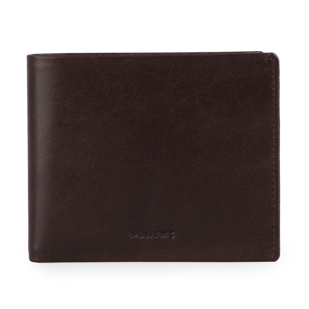 Maitre Pánská kožená peněženka Bruschied Gilbrecht 4060001529 - tmavě hnědá